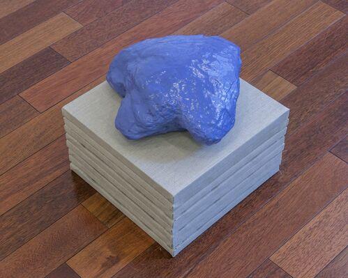 "Claude Rutault/Allan McCollum ""A VENDRE, EXPOSITION"", installation view"
