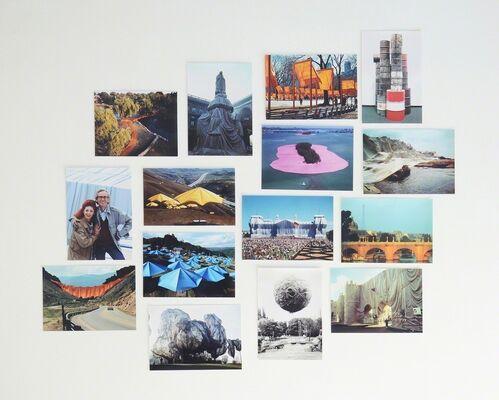 Christo & Jeanne-Claude, installation view