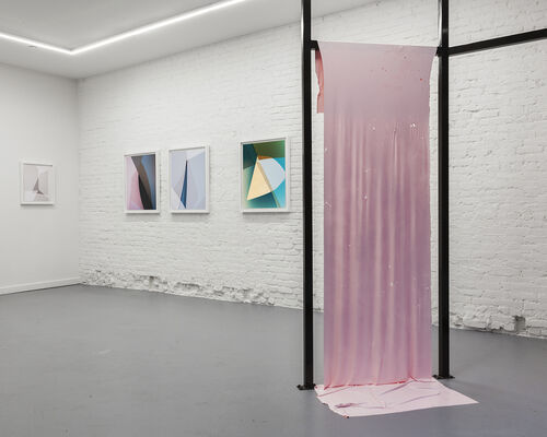 A Room is Made Up of Other Spaces, installation view