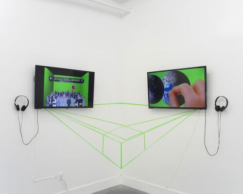 Umber Majeed, In the Name of Hypersurface of the Present, installation view