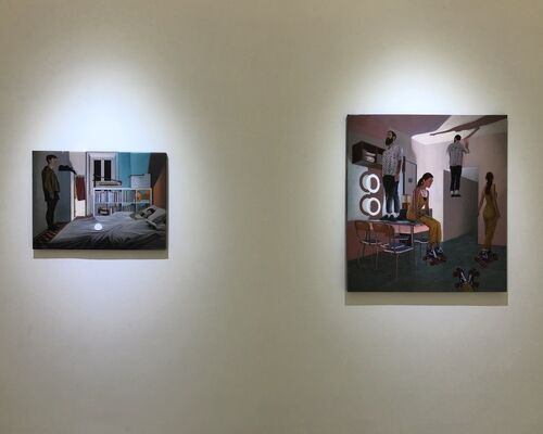 Doppelgänger | Dario Maglionico, installation view