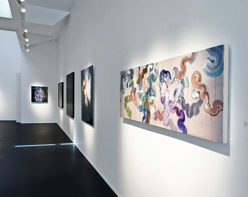 A Deeper Shade of Blue, installation view