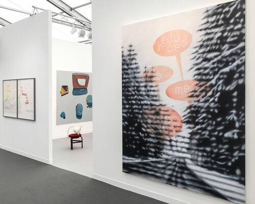Mai 36 Galerie at Frieze London 2016, installation view