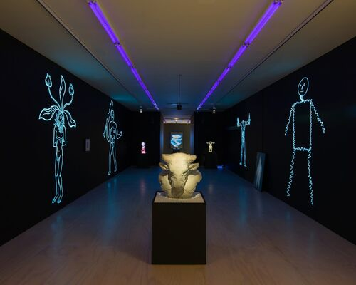 Mark Leckey: Containers and Their Drivers, installation view