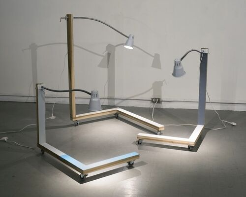 James Woodfill: Code Practice, installation view