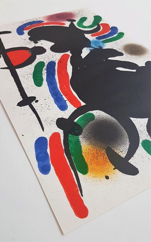 Joan Miró, 'Litografia Original IV', 1975, Print, Color Lithograph, Cerbera Gallery