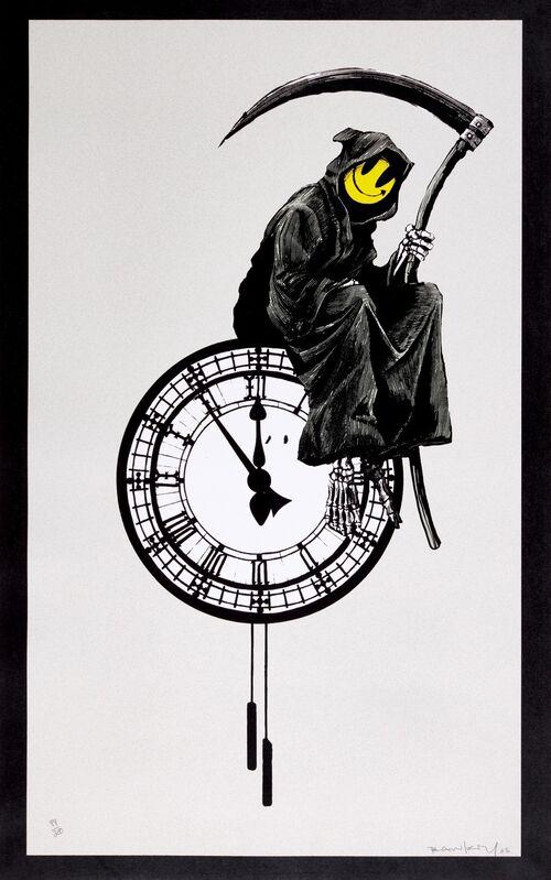 Banksy, 'Grin Reaper', 2005, Print, Screenprint, Tram Collective