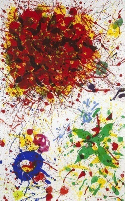 Sam Francis, 'Untitled', 1987, Print, Lithograph, Bernard Jacobson Gallery