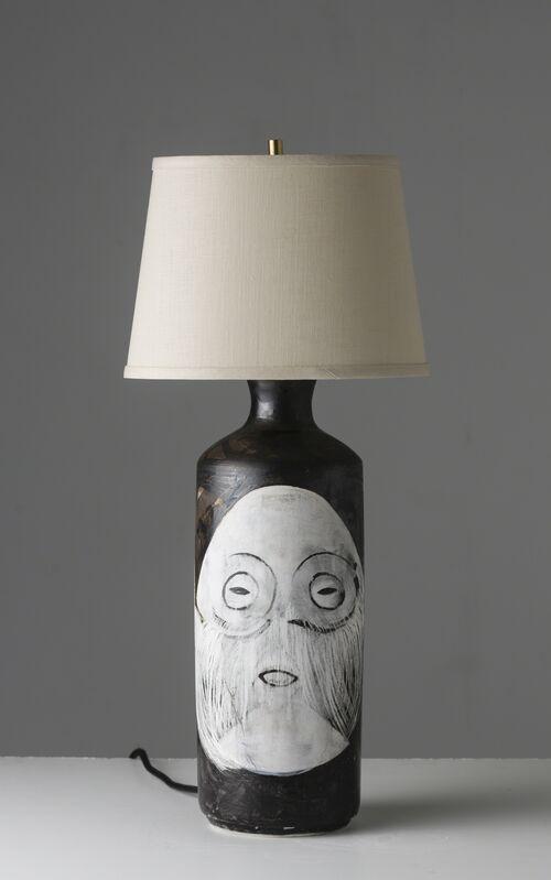 Cathrine Raben Davidsen, 'Strange Guy Lamp', 2015, Design/Decorative Art, Unique hand painted base of glazed fired ceramic, Vance Trimble
