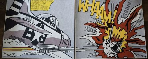 Roy Lichtenstein, 'Whaam! ', 1982