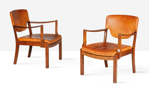 Tove Kindt-Larsen, 'Pair of lounge chairs', 1942