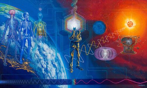 Mear One, 'Self-Scientific', 2015