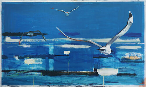 Thomas Øvlisen, 'Blue', 2019