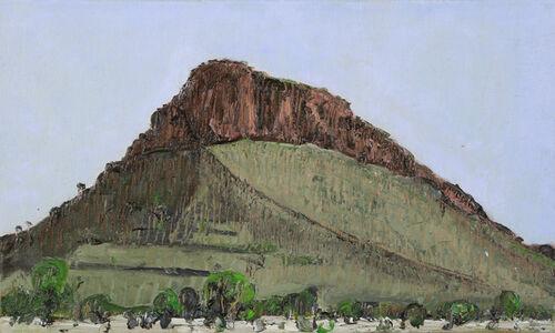 John Kelly (b.1965), 'Round Hill, From Arumbera Creek', 2015