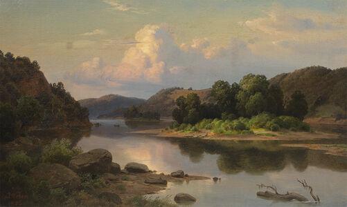 Paul Weber, 'Placid River', 1852