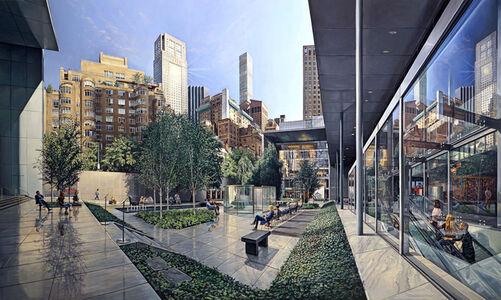Robert Neffson, 'MoMA Garden', 2018