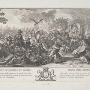 Sébastien Le Clerc I, '[Defeat of Porus]', 1696