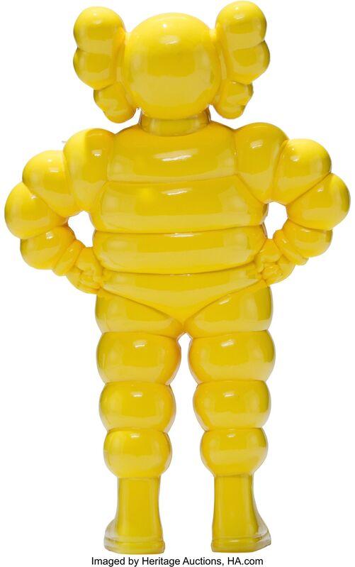 KAWS, 'Chum (Yellow)', 2002, Sculpture, Cast vinyl, Heritage Auctions
