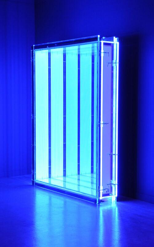 Chul-Hyun Ahn, 'Void', 2011, Sculpture, Cast acrylic, LED lights, hardware, mirrors, C. Grimaldis Gallery