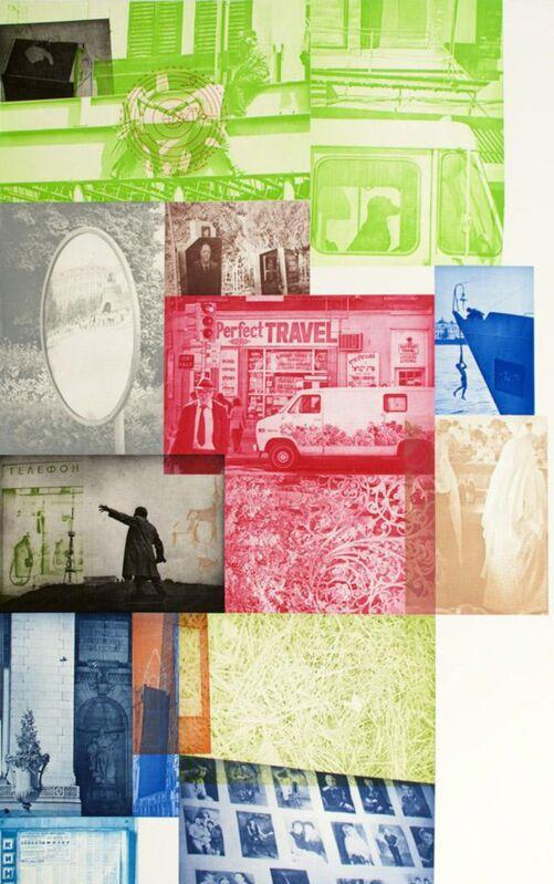 Robert Rauschenberg, 'Soviet / American Array Vl', 1991, Print, Color intaglio, Zane Bennett Contemporary Art