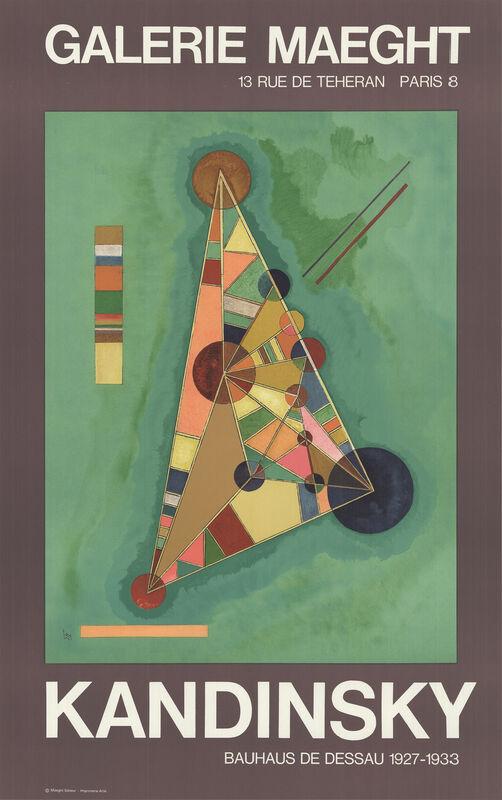 Wassily Kandinsky, 'Bauhaus', 1985, Ephemera or Merchandise, Stone Lithograph, ArtWise