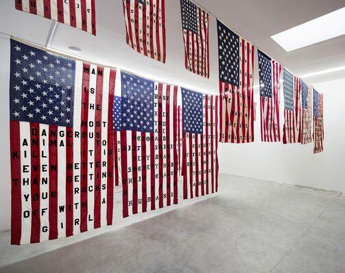 29 FLAGS - Cali Thornhill DeWitt, installation view