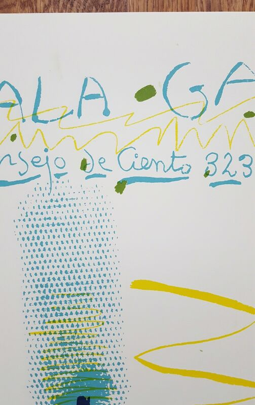Pablo Picasso, 'Sala Gaspar: Dibujos de Picasso', 1961, Posters, Lithograph, Exhibition Poster, Graves International Art