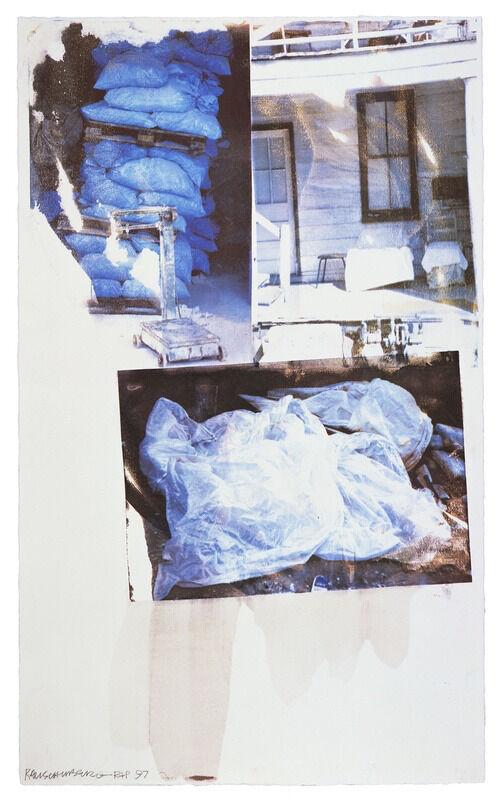 Robert Rauschenberg, 'Daydream (Speculations)', 1997, Print, Screenprint in colors, Upsilon Gallery