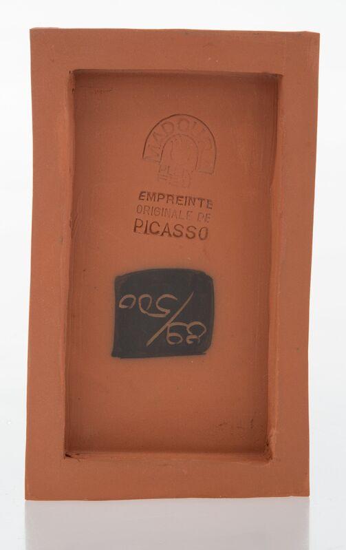 Pablo Picasso, 'Visage d'homme', 1966, Design/Decorative Art, Terre de faïence tile, Heritage Auctions