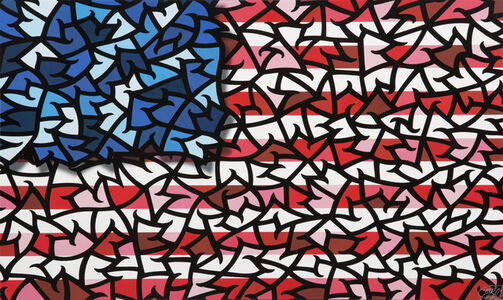 Spencer Mar Guilburt, 'Amarican Flag', 2015