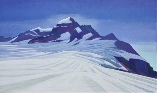 Nicholas Bott, 'Flowing Ice - Mount Bute', 2019