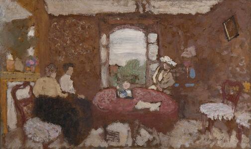 Édouard Vuillard, 'Lucy Hessel en visite chez les Roussel à Cricqueboeuf', 1901