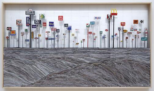 Takahiro Iwasaki, 'Phenotypic Remodeling (Yokosuka) in the Frame', 2019