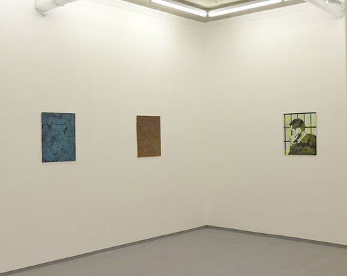 Robin Footitt - Modern Grammar, installation view