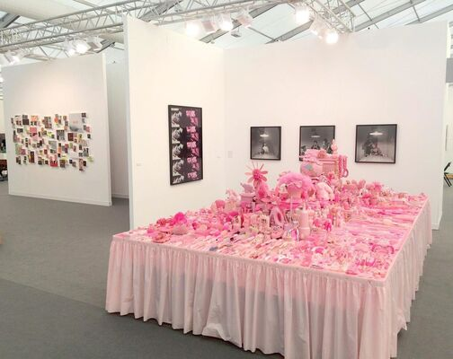 P.P.O.W at Frieze London 2016, installation view