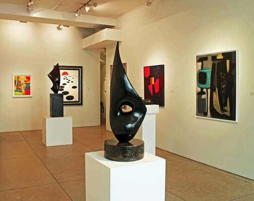 Abstracting from Nature, installation view