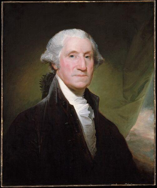 Gilbert Stuart, 'George Washington', 1795