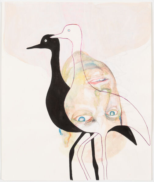 Brian DeGraw, 'Egret's Shadow', 2018