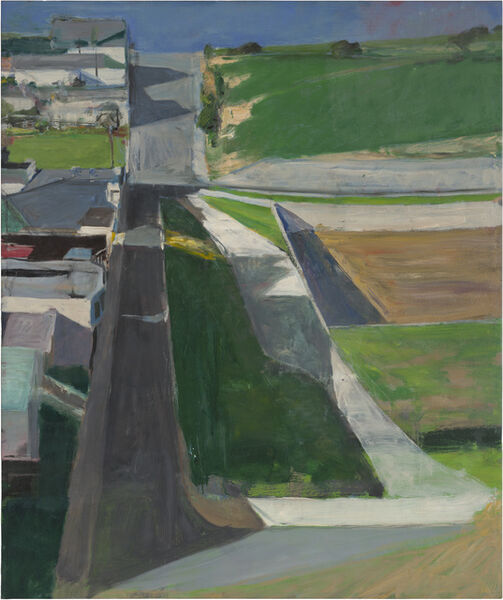Richard Diebenkorn, 'Cityscape #1', 1963