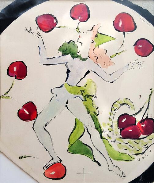 Marcel Vertes, 'Dancing  Juggling  Cherries', 1930-1945