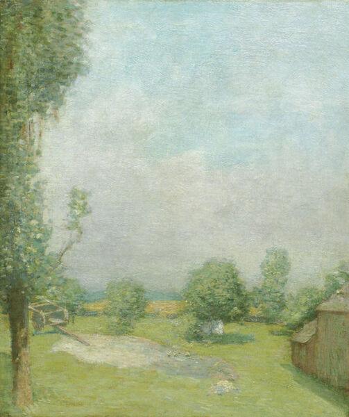 Julian Alden Weir, 'The Farm at Branchville', 19th -20th Century