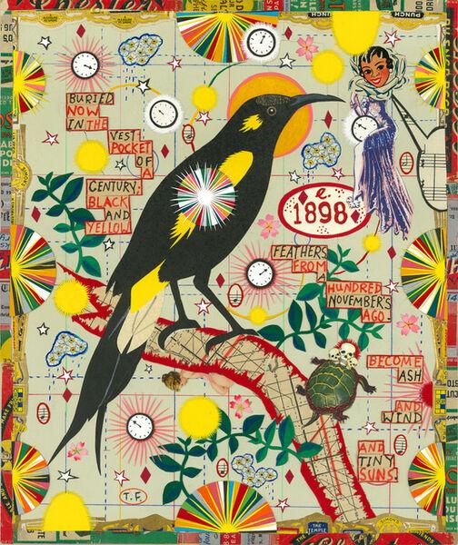 Tony Fitzpatrick, 'Bird of the Century', 2016