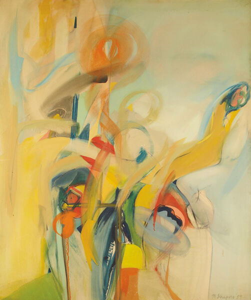 Miriam Schapiro, 'Earth', 1959
