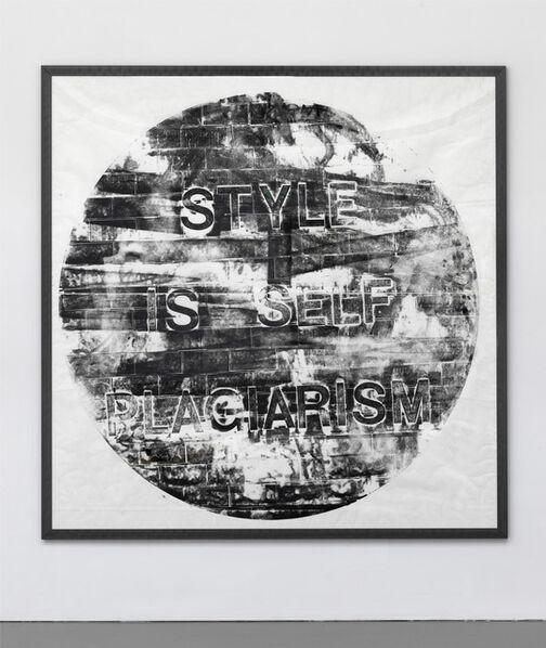 Job Koelewijn, 'Writing on the Wall [Style is self plagiarism, 1 Feb 2016]'