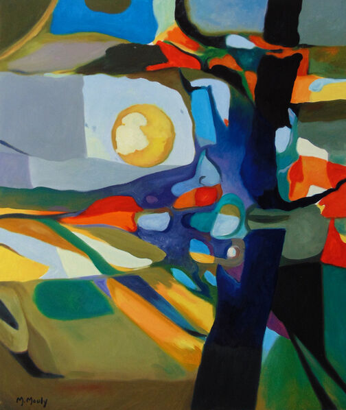 Marcel Mouly, 'Wheat Fields in the Sun', 1993