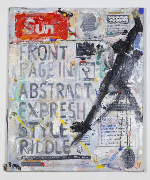 Conrad Atkinson, 'Sun', 1987