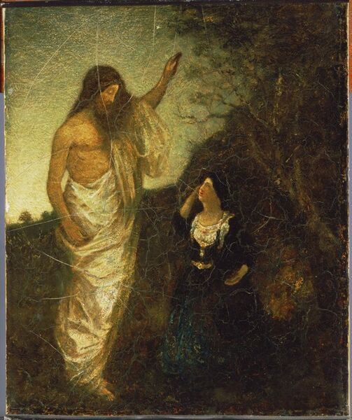 Albert Pinkham Ryder, 'Resurrection', 1885
