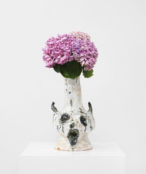 Andrej Dubravsky, 'Vase (white head)', 2015