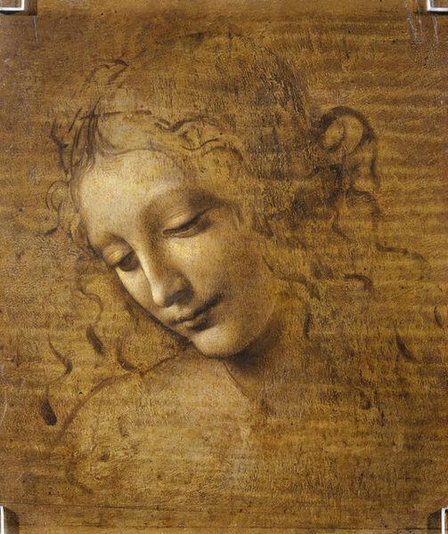 Leonardo da Vinci, 'Head and Shoulders of a Woman (La Scapigliata)', 1500-1505