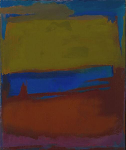 Esteban Vicente, 'Untitled (P66-01)', 1966